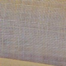 Pale Grey Sinamay